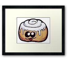 Baked Goods -Sticky Bun Framed Print