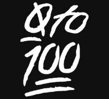 0 To 100 [White] by scarammanga