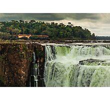 Iguazu Falls - The Top Photographic Print