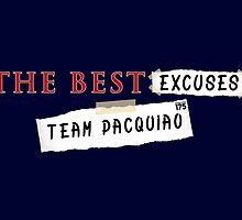 Manny Pacquiao - The Best Excuses by liam175