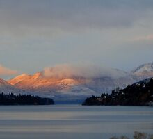 Sunrise at Wakatipu by Deanna Roberts Think in Pictures