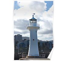 SMALLER LIGHTHOUSE AT WOLLONGONG Poster