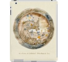 cathedral Notre Dame chimera iPad Case/Skin