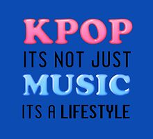 KPOP IS A LIFESTYLE - BLUE by Kpop Seoul Shop