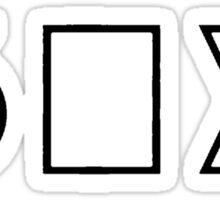 Six Squared [Black] Sticker