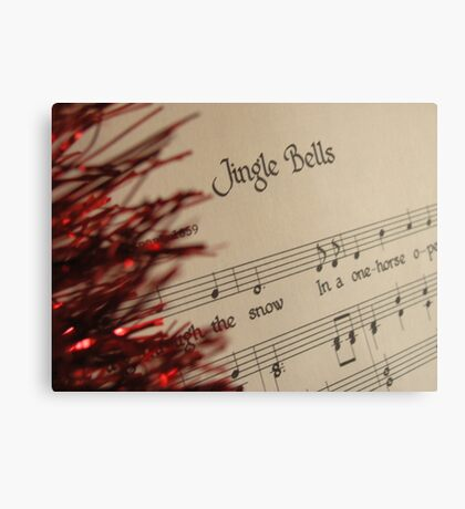 Christmas Sing-a-long Canvas Print