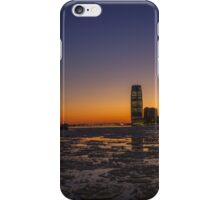icy sunset iPhone Case/Skin