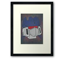 soundwave superior Framed Print