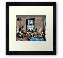Old Fashioned Kitchen Framed Print