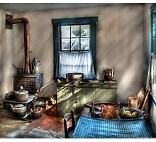 Old Fashioned Kitchen Photographic Print
