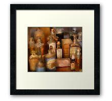 Cough Syrup Framed Print