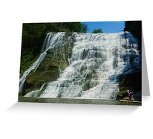 NEW YORK STATE WATERFALL  Greeting Card