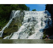 NEW YORK STATE WATERFALL  Photographic Print