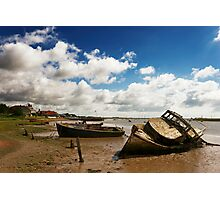 Old Boats at Orford Photographic Print