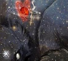 Dreaming Wolf Sticker