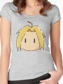Edward Elric Chibi Women's Fitted Scoop T-Shirt
