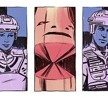 Tron portraits by Nathan Anderson