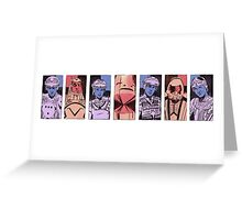 Tron portraits Greeting Card