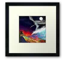 Colours Of The imagination: Symbolic Flows Framed Print