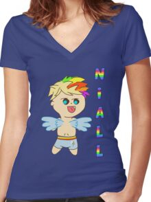 Rainbowdash Niall Horan Women's Fitted V-Neck T-Shirt