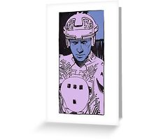 Tron portrait Greeting Card