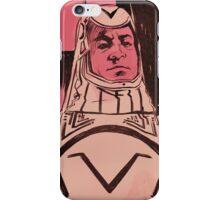 Sark portrait iPhone Case/Skin