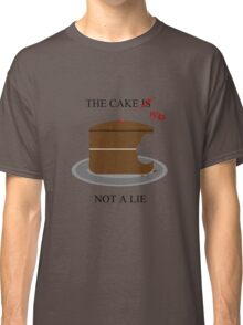 The cake is/was not a lie Classic T-Shirt