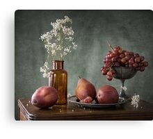 Winter Fruit Canvas Print