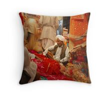 Jaipur Market Throw Pillow