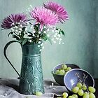 Pink Mums and Green Grapes by Colleen Farrell