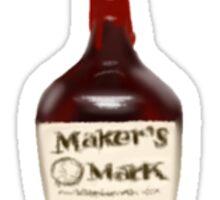 Maker's Mark Sticker