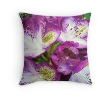 Rhododendron Sensation Throw Pillow