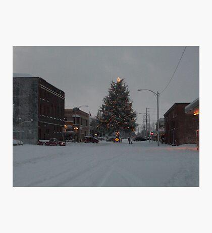 Small Town Wonderland Photographic Print