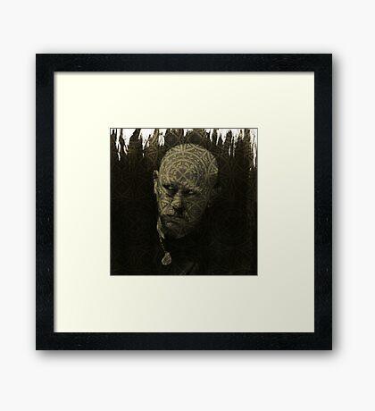 Dark Artist Framed Print