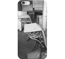 School Chairs iPhone Case/Skin