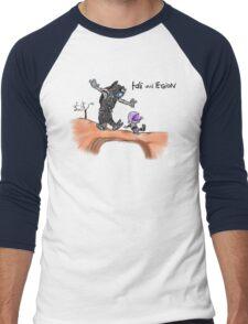 Tali and Legion Men's Baseball ¾ T-Shirt