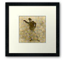 Judgemental Man Framed Print