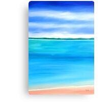 Sea Shallow Canvas Print