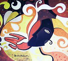 andruchak - three mary 2  by andruchak
