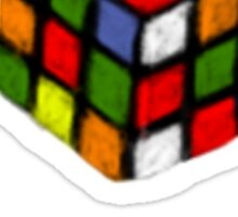 Rubik's Cube Sticker