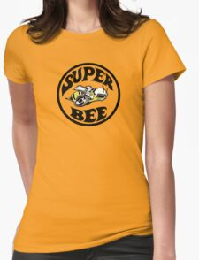 Dodge Super Bee (any background color) Womens Fitted T-Shirt