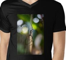 Poised Mens V-Neck T-Shirt
