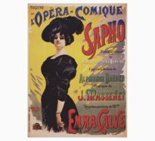 Comic Opera French Classic Vintage Poster T-Shirt