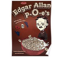 Once Upon a Breakfast Dreary - Edgar Allan P-O-e's  Poster