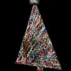 Abstract Christmas Tree Swirl Collage by andymars