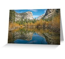 Mirror Lake - Yosemite Valley Greeting Card