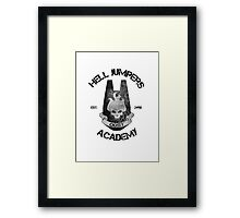 halo hell jumpers academy Framed Print