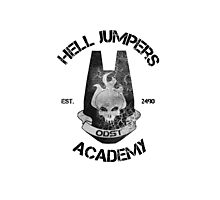 halo hell jumpers academy Photographic Print
