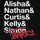 Alisha & Nathan & Curtis & Kelly & Simon from Misfits by yeahshirts