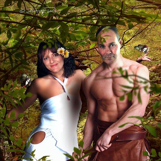 Tarzan and Jane by navybrat